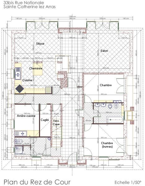 plan de maison à vendre
