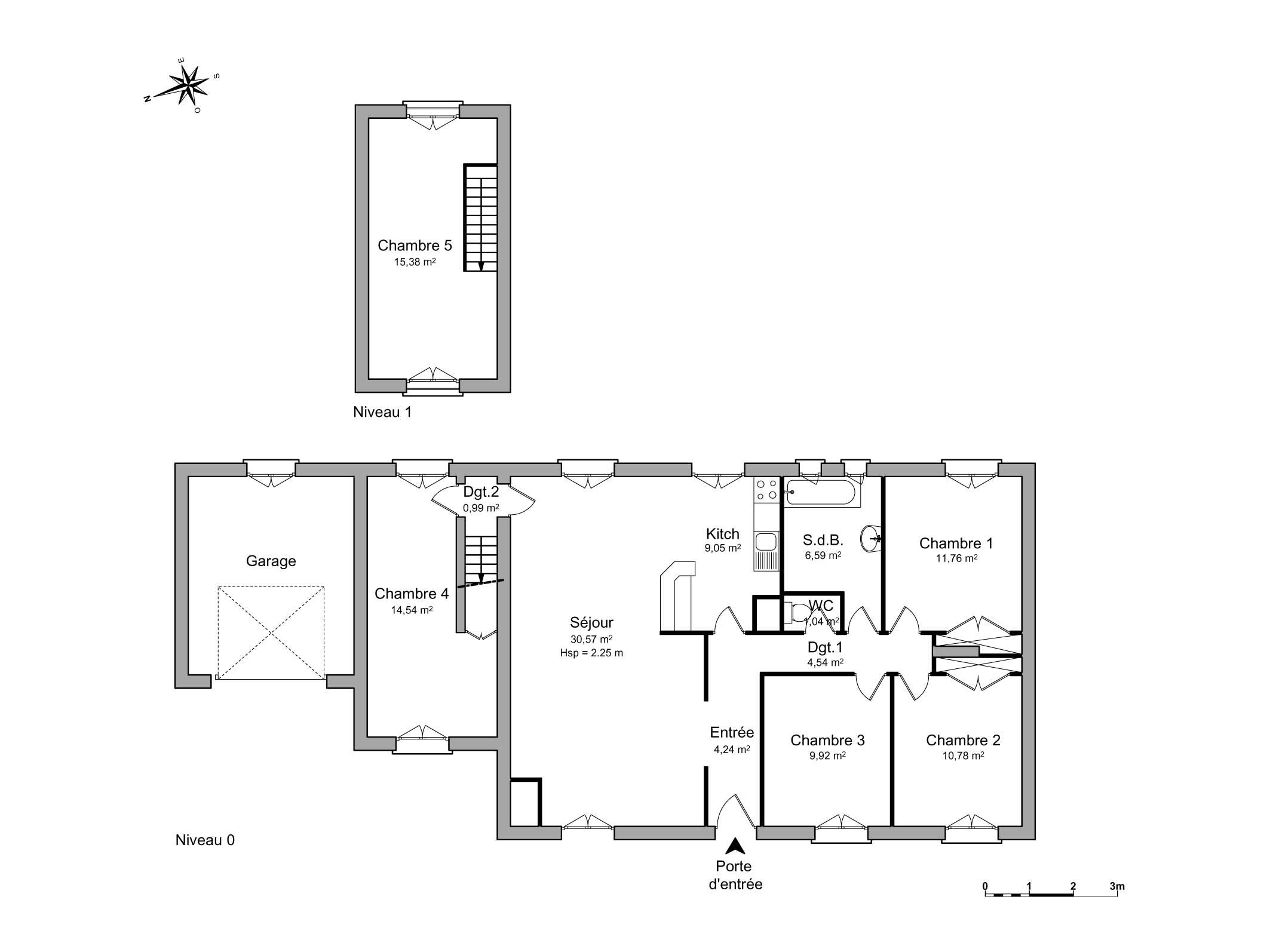 plan de maison a vendre